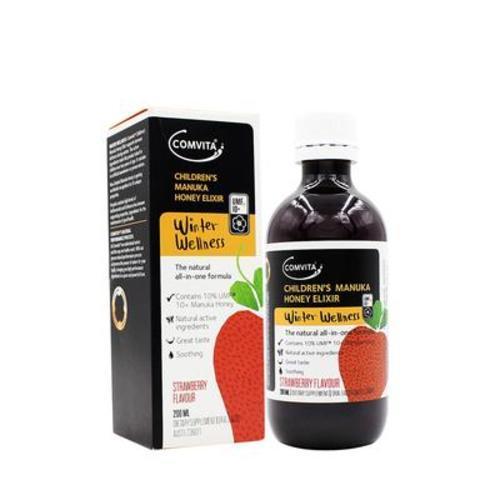 新西蘭康維他comvita天然草莓味調制蜂蜜液(蜂膠)200ml