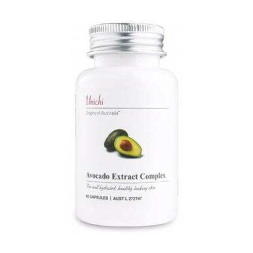 澳洲進口Unichi 澳源優馳 牛油果精華膠囊 60粒/瓶