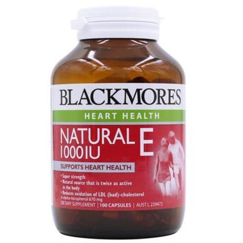 澳洲Blackmores澳佳寶天然維生素E 100粒