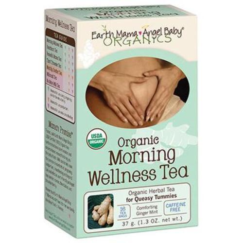 美國Earth Mama 地球媽媽 孕期有機草本茶 16袋/盒 天然舒緩早安茶
