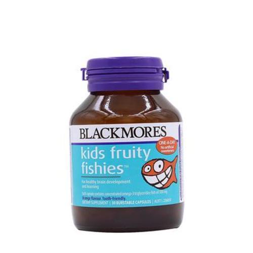 澳洲Blackmores澳佳寶兒童果味魚油30粒/瓶