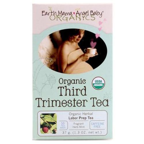 美國Earth Mama 地球媽媽 孕期有機草本茶 16袋/盒天然孕晚期順產茶