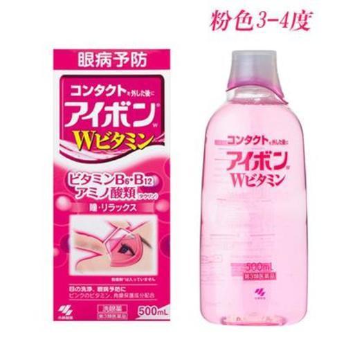 日本小林洗眼液滴眼液眼藥水護眼緩解疲勞消炎500ml(清涼度3-4度)