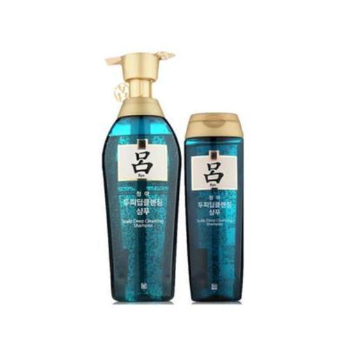 韓國呂 綠呂淡屑養發洗發水套裝 400ml+180ml