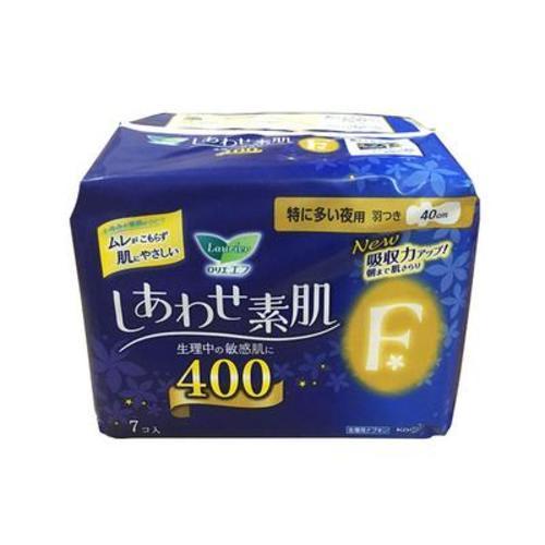 日本花王衛生巾樂而雅F系列夜用40cm*7片