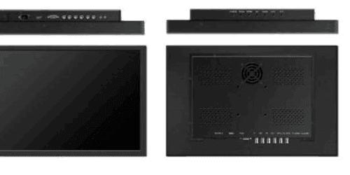 22寸液晶监视器参数规格及尺寸图