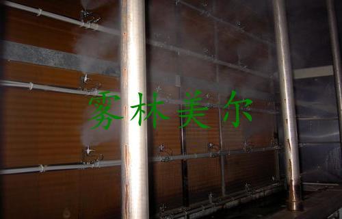 空调箱气水混合加湿