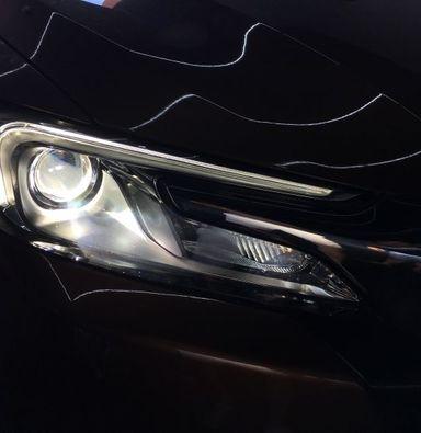 苏州雪铁龙DS6改装海拉5双光透镜欧司朗氙气大灯