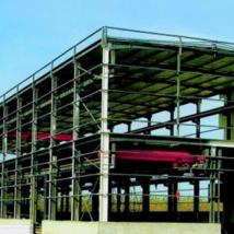 二层钢结构仓库