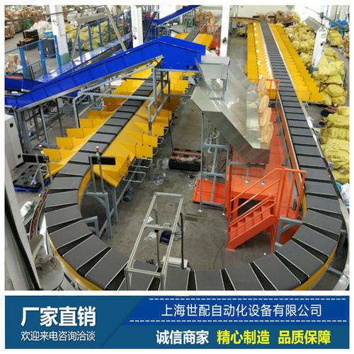 电商物流分拣线|环形交叉带分拣机|效率快上海世配国内电商物流优质商家
