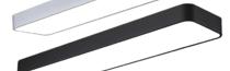 君泉(JunQuan) LED吊灯 简约现代办公室长条铁艺吊灯 客厅灯餐厅灯工程灯写字楼工作室车间会议室灯具灯饰