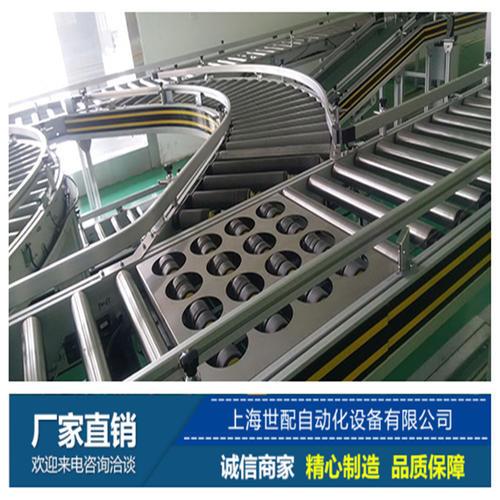 电商分拣输送线系统_智能高速分拣输送线_分拣配送系统—上海世配自动化设备有限公司