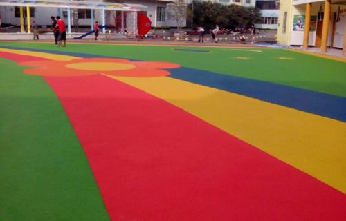 金山幼儿园地坪