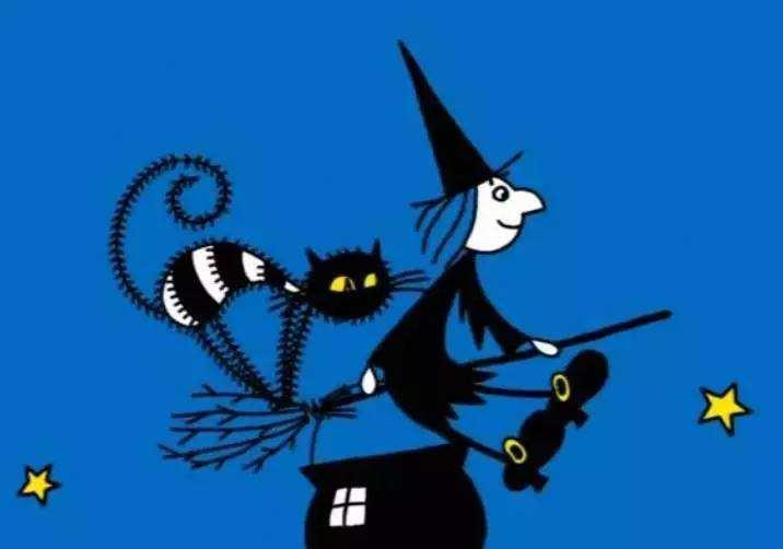 女巫麦格和小猫莫格Meg and Mog