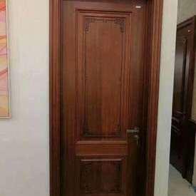 上海展会新中式木门木饰面展示