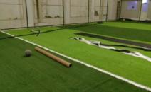 足球场施工