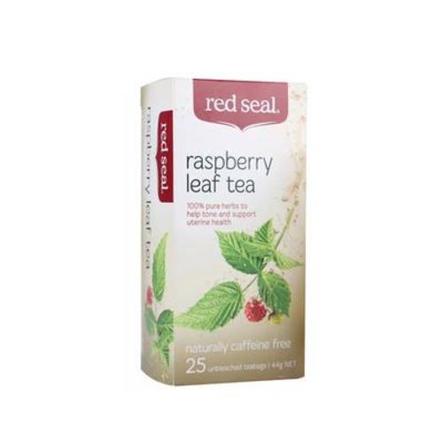 澳洲新西蘭Red Seal紅印天然覆盆子葉茶軟化宮頸助產順產44g