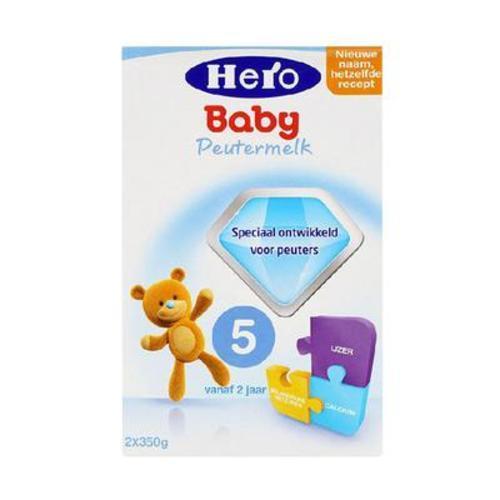 荷蘭美素Herobaby奶粉5段700g(新舊包裝隨機發送)