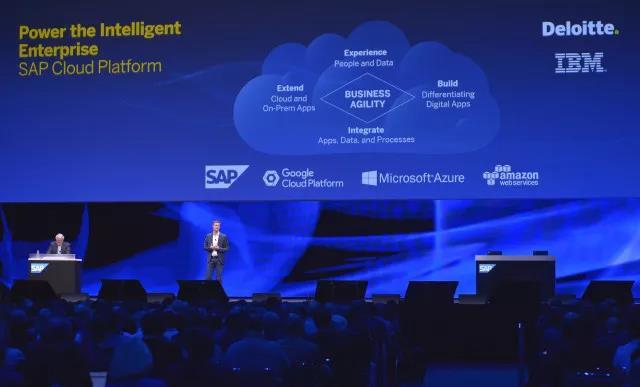 "SAP 推出智能产品 打造""智慧企业"""