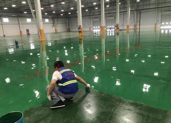 上海泰通物流有限公司环氧树脂自流平地坪