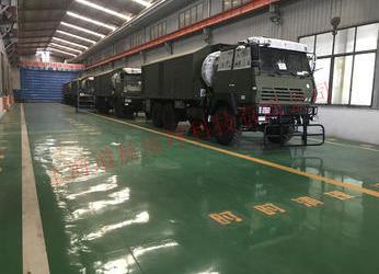 上海某军工厂环氧树脂自流平地坪