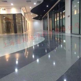 上海唯品会展示大厅环氧树脂磨石地坪