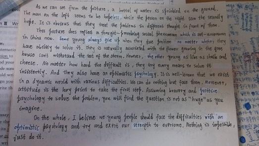 在考试中为如何为英语写作加分