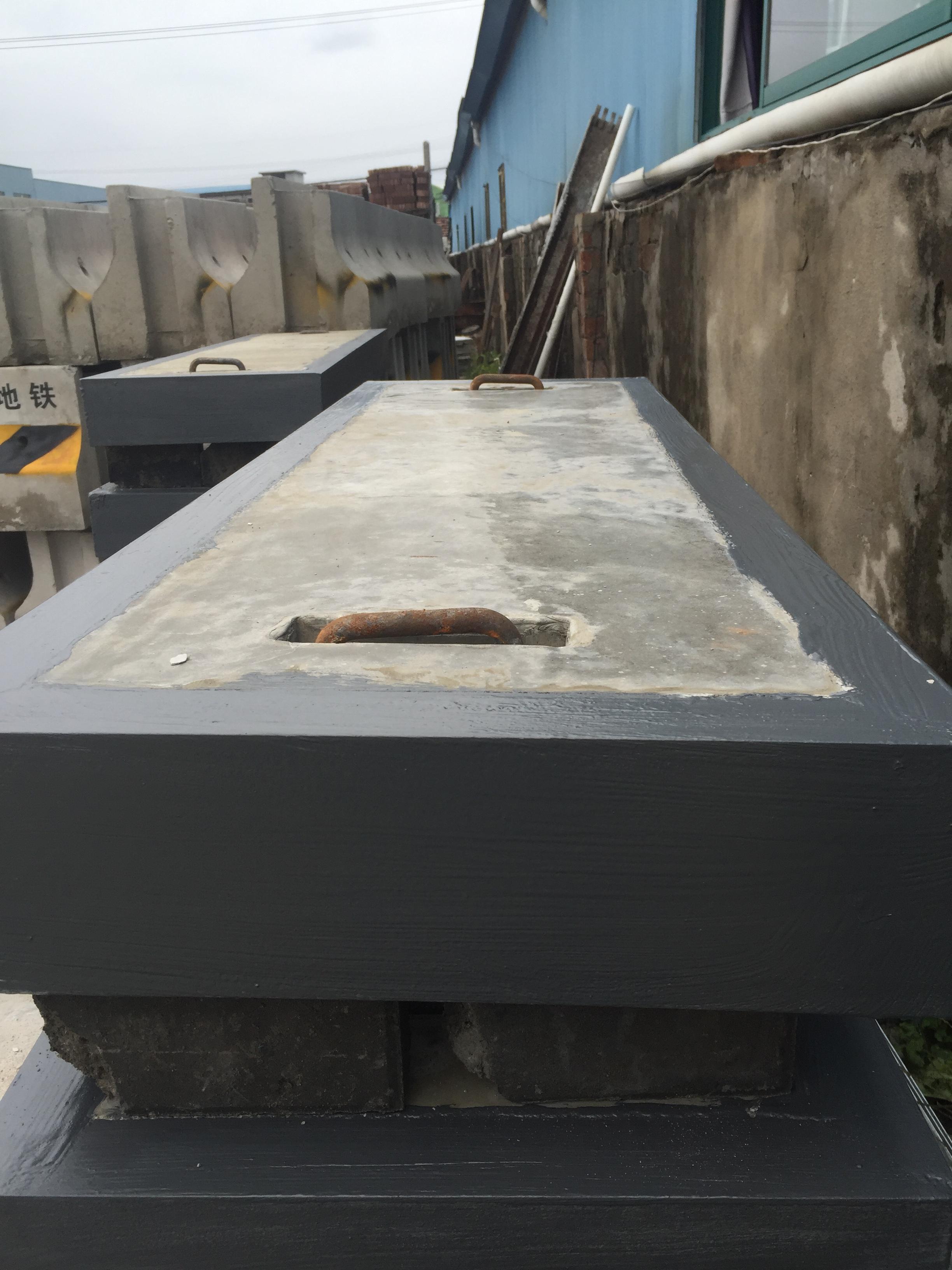 槽钢包边电缆沟盖板