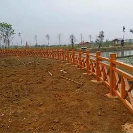 X型仿木护栏