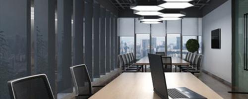 辦公空間如打造的簡約時尚大氣