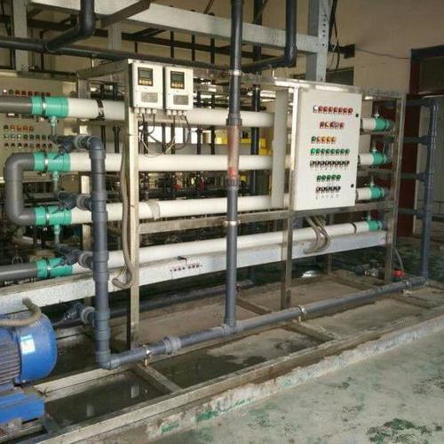 海普爾管式超濾膜電鍍廢水項目
