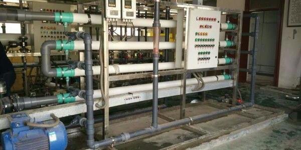 海普尔管式超滤膜电镀废水项目