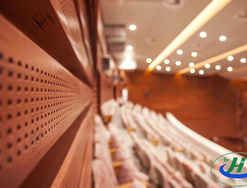葫芦岛兴城剧院GRG吊顶、GRG墙面、GRG旋转楼梯项目