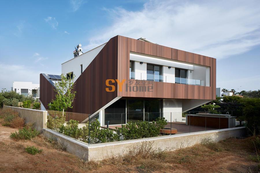 能源自给自足 — V字型生态住宅
