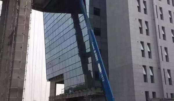高空作业施工中