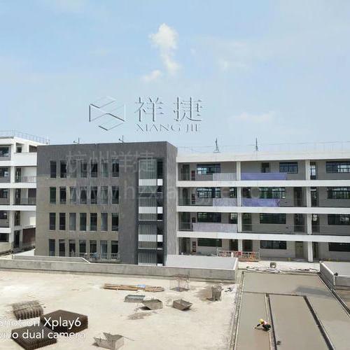 南京市将军山初级中学U型玻璃工程