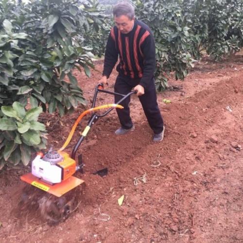 新款3马力汽油微耕机小型旋耕机