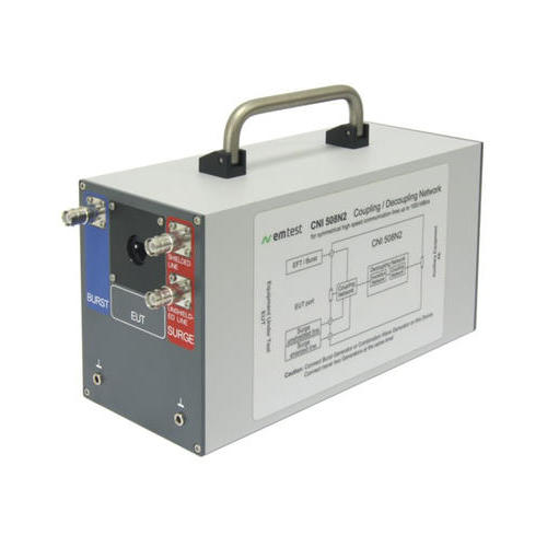 CNI 508N2 耦合网络组 耦合 / 去耦网络组,用于非屏蔽和屏蔽高速通信线测试, 数据传输速率 1 GBIT / S