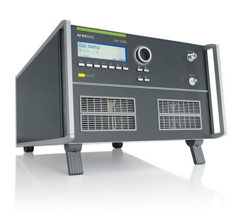 CWS 500N2.2 连续波模拟器,用于大电流注入测试,频率范围 9 KHZ - 1 GHZ