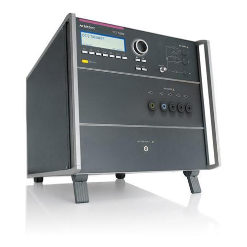 OCS 500N6F 系列 快速和慢速阻尼振荡波及振铃波模拟器