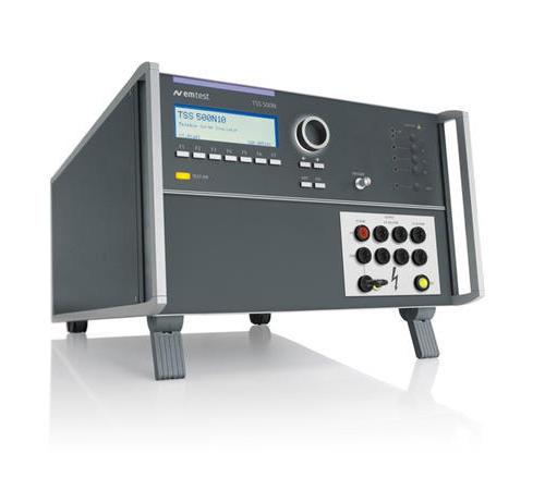 TSS 500N10 通信浪涌模擬器,符合 ITU / FCC 標準,測試電壓可達 10 KV