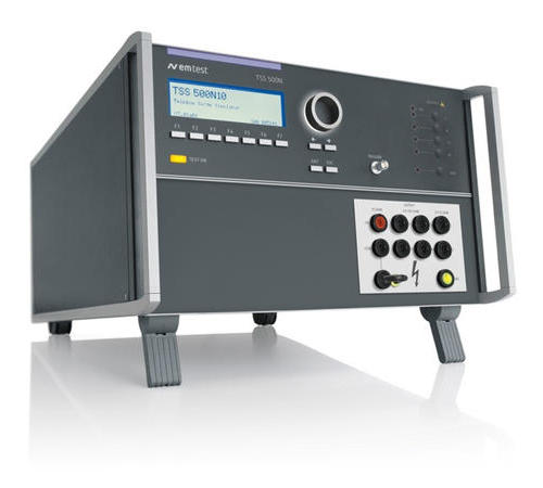 TSS 500N6B 組合式通信浪涌模擬器,符合 BELLCORE / TELCORDIA GR-1089-CORE 標準