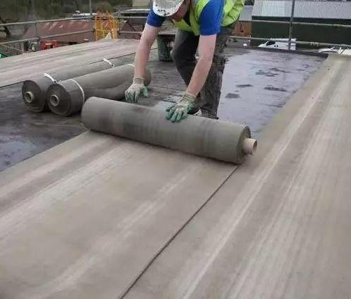Cement blanket