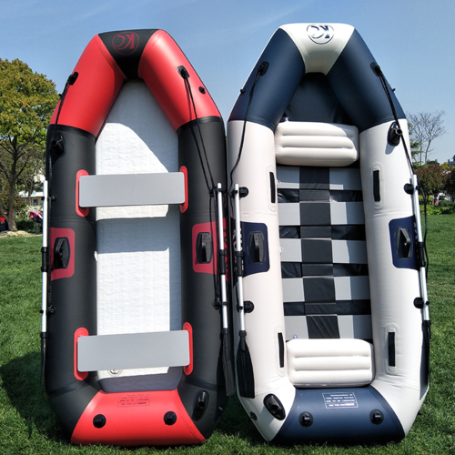 Rubber boat thickened canoes