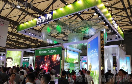 第23届上海CBE美博会,百雀羚在美妆盛宴上再次耀动全场