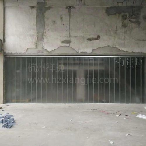 湖北黄石工厂改造U型玻璃工程
