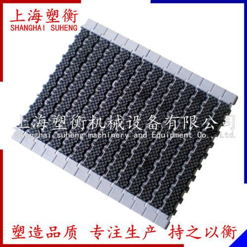 1400加膠防滑平板塑料網帶