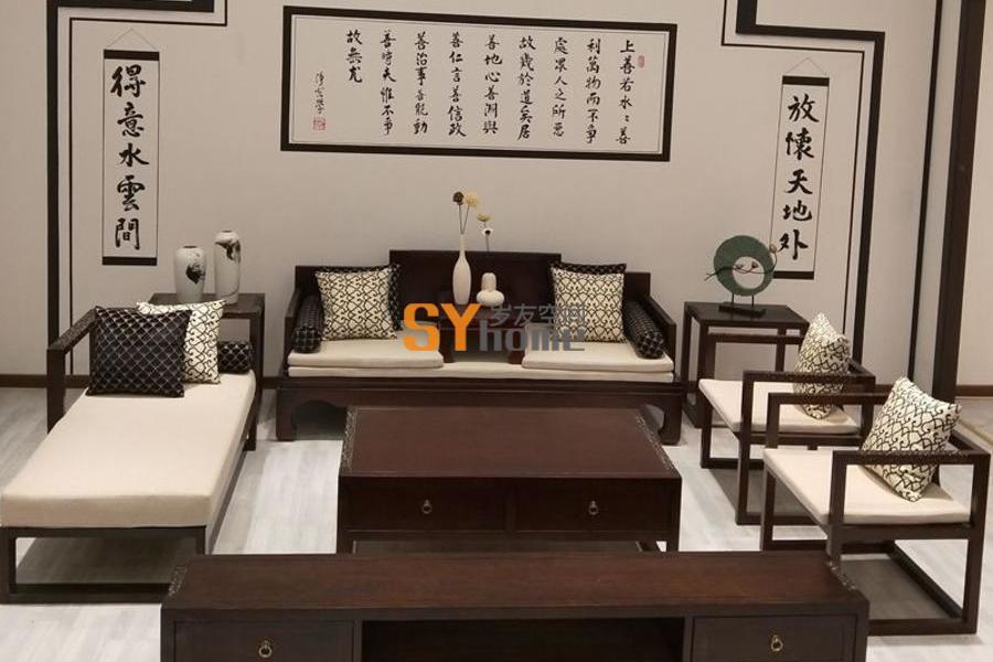 新中式简约大气家具风格