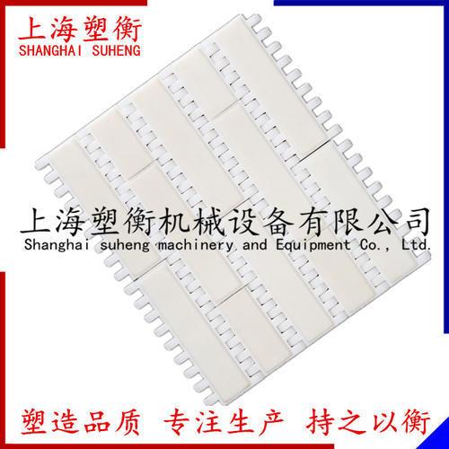 OPB加膠防滑平板塑料網帶