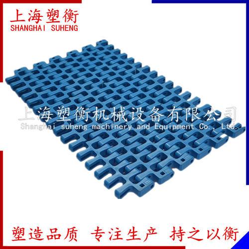 300轉彎平格塑料網帶